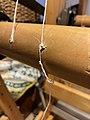 Warp beam apron string replacement (51037419127).jpg