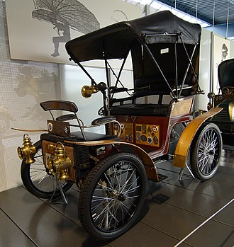 Eisenach - Car, produced in Automobilwerk Eisenach in 1898