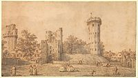 Warwick Castle- The East Front MET DP358985.jpg