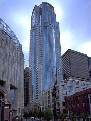 Washington Mutual - The Washington Mutual Tower at 1201 Third Avenue in Seattle, Washington