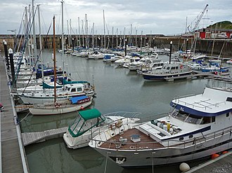 Watchet - The modern marina