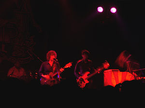 """Room to Roam - The Waterboys playing """"The Raggle Taggle Gypsy"""" at the Trowbridge Festival in 2006."""