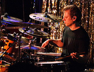 Dave Weckl - Playing with the Chick Corea Elektric Band at the Blue Note in New York in December 2007