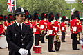 Wedding of Prince William of Wales and Kate Middleton band police.jpg