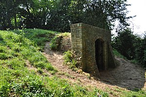 Weeting Castle - The ice house