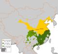 Wei-Wu-Shun Dynasties 220 - 280 (AD).PNG