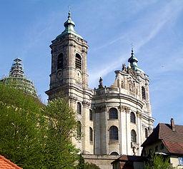Weingarten Basilika von Nordwesten