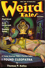 Weird Tales cover image for November 1938