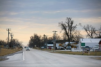 Weldon, Illinois - Weldon, Illinois, at the junction of state route 10 and 48.