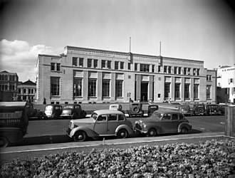 Wellington City Libraries - The new Public Library completed in 1937
