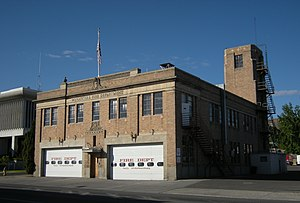 Wenatchee, Washington - Wenatchee Fire Station No. 1 is listed on the National Register of Historic Places (NRHP).
