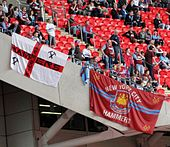 Banner for New York City fans of West Ham United