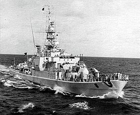 West German frigate Braunschweig (F225) underway at sea in 1972.jpg