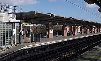West Ham station - Image: West Ham station MMB 12