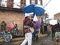 Wet Mardi Gras 2014 Gator Brella Lost Love Lounge.JPG