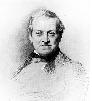 Charles Wheatstone - Wheatstone, drawn by Samuel Laurence in 1868