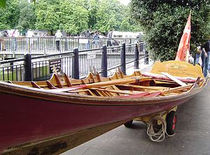 Wherry - Thames wherry built to 18th-century design at Kingston upon Thames