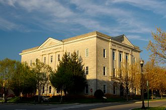 White County, Tennessee - Image: White county courthouse tn 2