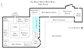 White House West Wing - 1st Floor with Cabinet Room highlighted.png