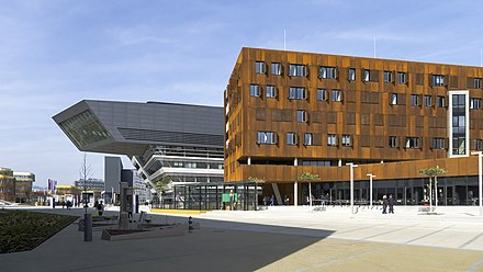 The campus of the Vienna University of Economics and Business Wien 02 Campus WU a.jpg