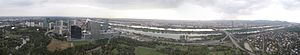 Donauturm - Image: Wien vom Donauturm