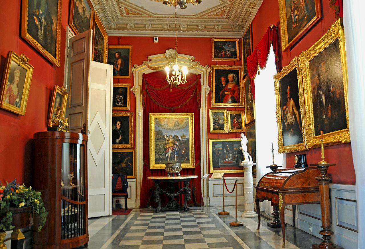 Wilanów Palace interior 01.jpg