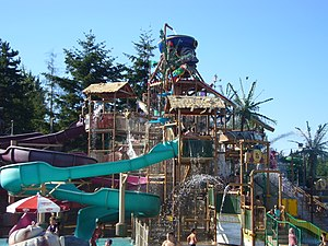 Wild Waves Theme Park - Hooks Lagoon