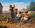 Wilhelm Richter Bauernkinder vor den Toren von Florenz 1860.jpg