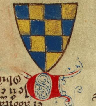 William de Warenne, 5th Earl of Surrey - Arms of William de Warenne