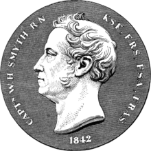 William Henry Smyth - medal.png