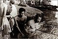 William Holden and Chandran Rutnam while shooting The Bridge on the River Kwai.jpeg