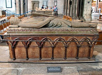 William Longespée, 3rd Earl of Salisbury - Tomb of William Longespée in Salisbury Cathedral