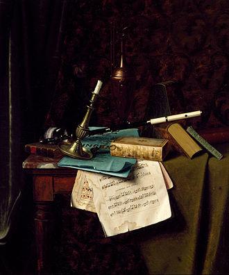 William Harnett - William Michael Harnett – The Last Summer Rose