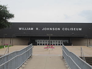 William R. Johnson Coliseum - Image: William R. Johnson Coliseum, SFA, Nacogdoches IMG 3317