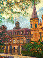 William Woodward-Old Cabildo and Entrance to Jackson Square 1914.jpg
