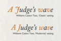 Williams Caslon Text settings.png