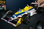 Williams FW12B (Mansell) front-left 2017 Williams Conference Centre.jpg