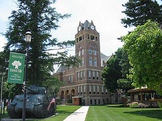 Winnebago County, Iowa - Image: Winnebago County Courthouse, Forest City, Iowa
