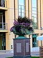 Wisconsin Ave. Westside Flower Pedestal - panoramio.jpg