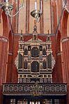 Wismar, St. Nikolai, Blick auf die Orgelbühne.JPG