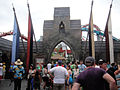 Wizarding World of Harry Potter - entrance to the Triwizard Tournament Dragon Challenge (5013696669).jpg