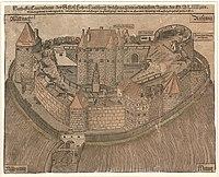 Hohenlandsberg Castle at Weigenheim, Middle Franconia