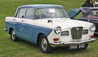 Wolseley 15/60 - Image: Wolseley 16 60 front