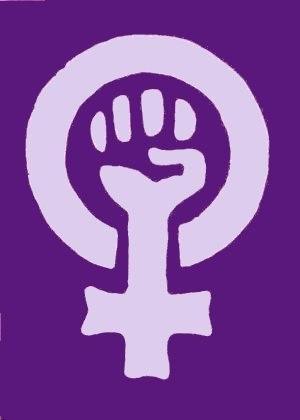 Postcolonial feminism - Feminism logo originating in 1970