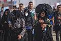 Women on the Arba'een Walk-Mehran city-Iran زنان در پیاده روی اربعین در مرز مهران- عکاسی خبری 06.jpg
