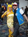 WonderCon 2012 - Pikachu and Ash (7019462249).jpg