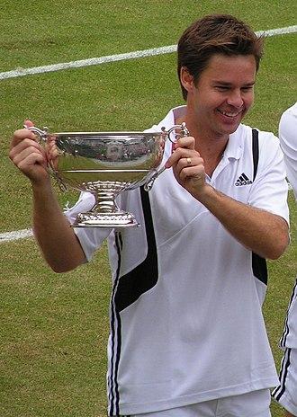 Todd Woodbridge - Image: Woodbridge Wimbledon 2004