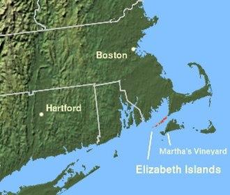 Naushon Island - The Elizabeth Islands, off the coast of Massachusetts