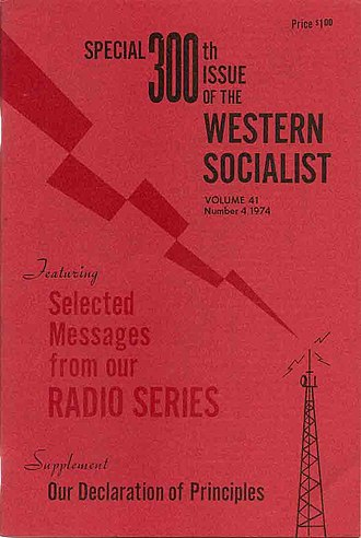 Western Socialist - Western Socialist 1974 Issue 300