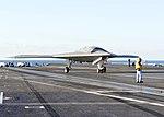 X-47B on Truman flight deck (121209-N-VE701-027).jpg